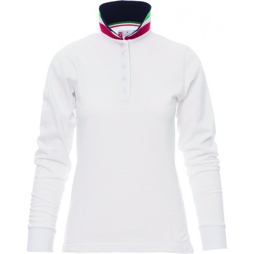 Polo promocional mujer ref LONG NATION LADY payper