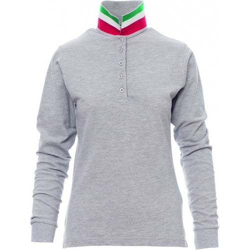 Polo promocional mujer ref LONG NATION LD MEL payper