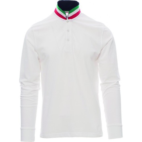 Polo manga larga para serigrafiar hombre ref LONG NATION payper