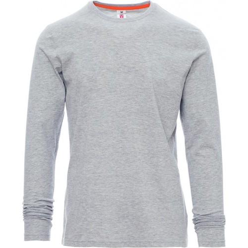 Camiseta manga larga promocional hombre ref PINETA MELANGE payper
