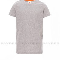 Camiseta para personalizar infantil ref SUNSET KIDS MELANGE payper