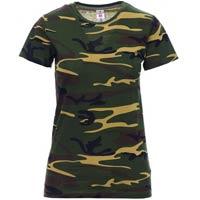 Camiseta para serigrafiar mujer ref SUNSET LADY FLUOR payper