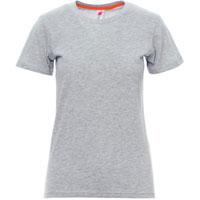 Camiseta para personalizar mujer ref SUNSET LADY MELANGE payper