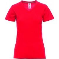 Camiseta para serigrafiar mujer ref V NECK LADY payper