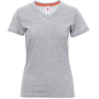 Camiseta promocional mujer ref V NECK LADY MELANGE payper