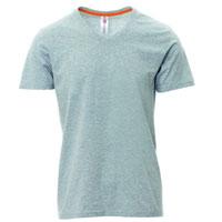 Camiseta para serigrafiar hombre ref V NECK MELANGE payper